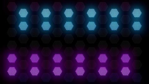 Hex Spot Light 03 Vj Loop Animation