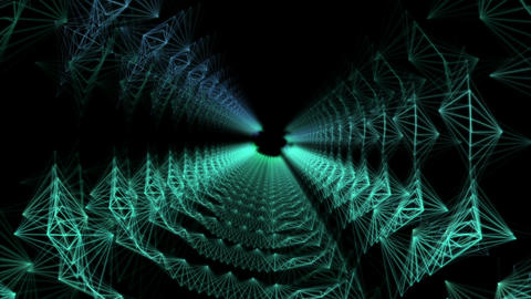 Plato Rays Vj Loop Animation