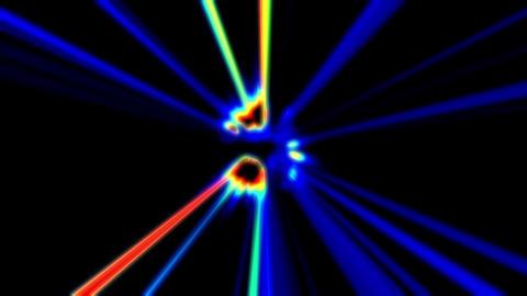 Pulse Beams 6 Vj Loop Animation