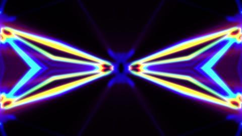 Pulse Beams 8 Vj Loop Animation