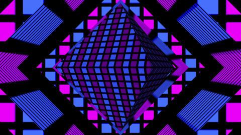 Pulse Rhombus 01 Vj Loop Animation