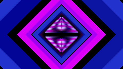Pulse Rhombus 02 Vj Loop Animation