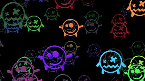 Smiley 02 Vj Loop Animation