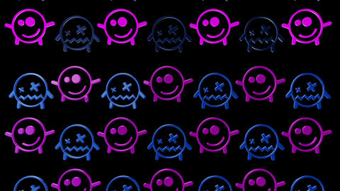 Smiley 03 Vj Loop Animation