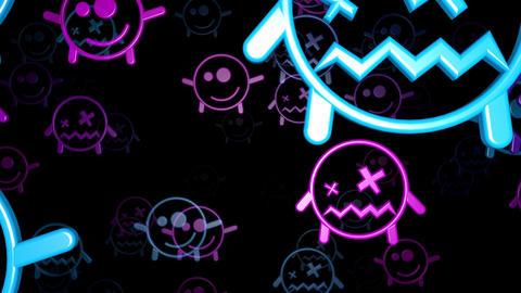 Smiley 04 Vj Loop Animation