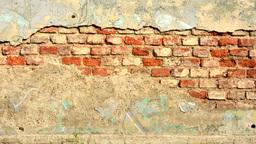 wall peeled - sunlight Footage