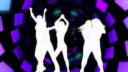 Dynamic dancing (with music) Animation