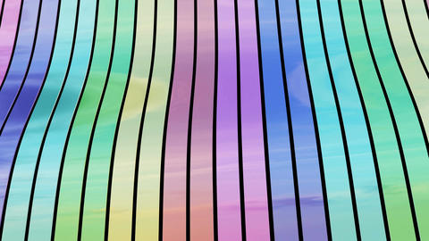 Colored Ribbons Background Animation
