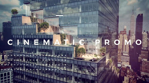 Cinematic Promo After Effects Template