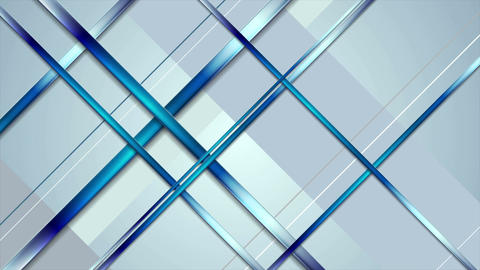 Tech abstract light blue stripes video animation Animation
