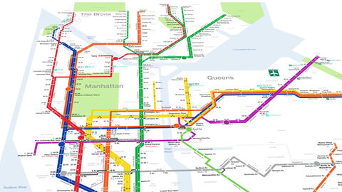 New York City Subway Animation Animation