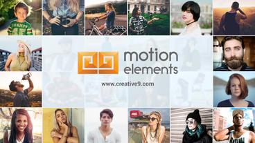 Multi Image Logo Opener After Effectsプロジェクト