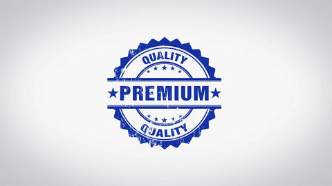 """ Premium "" 3D Animated Round Wooden Stamp Animation Animation"