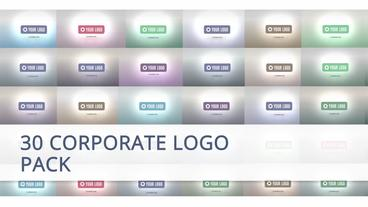 30 Corporate Logo Animation Pack After Effects Template