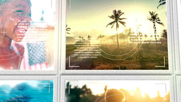 Summer Photo Album Plantilla de After Effects