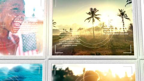 Summer Photo Album After Effectsテンプレート