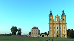 Pilgrimage church Ocistovani Panny Marie in the Dub nad Moravou Filmmaterial