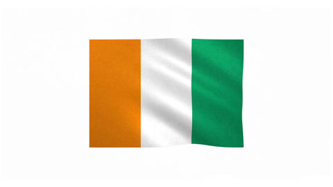 Flag of Cote d Ivoire 20170522 Animation