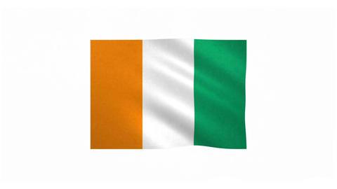 Flag of Cote d Ivoire 20170522 Animation
