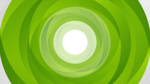 Green abstract circle shapes looping video animation Animation