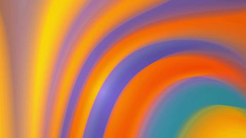 Orange colors twirl 4K Animation