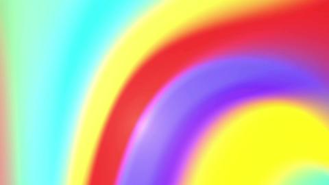 Rainbow colors twirl 4K Animation