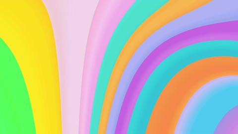 Abstract color backgrounds 4K Animation