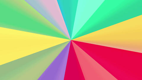 Color spin 4K Animation