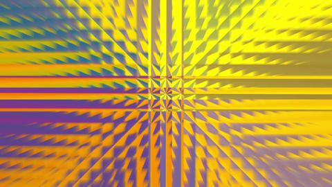 Abstract gold square pattern 4K 画像