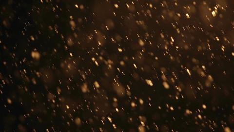 Snowfall at night Footage