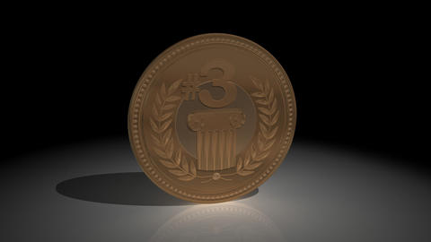 Bronze Medal and Mask Animation