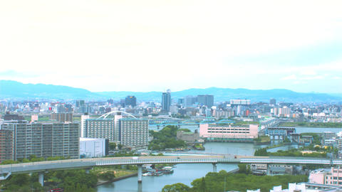 Time- lapse Osaka city Live Action
