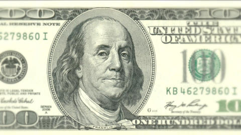 Bank banking US dollar bill banknote green money cash banking finance currency Live Action