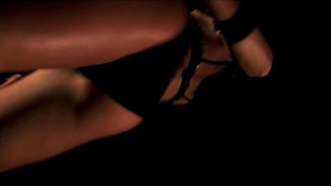 Sexy girl dancing Footage