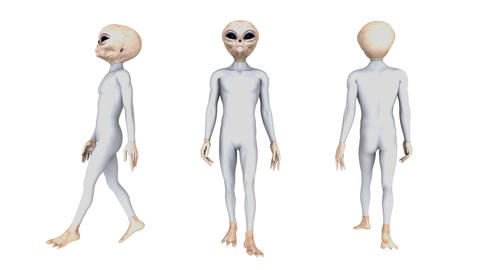 歩く宇宙人 Animation