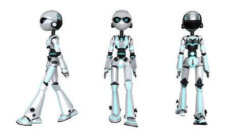 歩行ロボット Animation