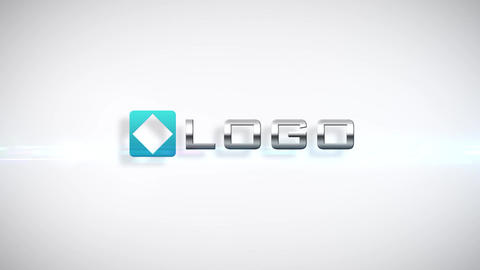 Elegant Logo Shatter Implosion Intro After Effects Template