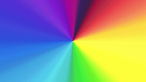 Colour spectrum 4K Animation