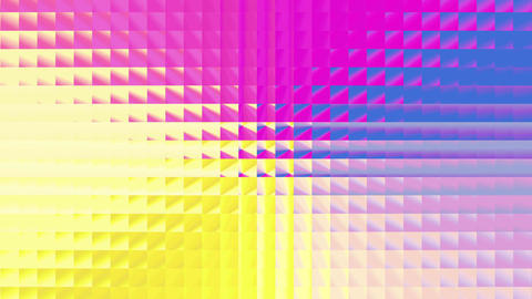 Abstract colorful square pattern 4K 画像