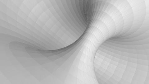 Low poly spiral and twirl concept background Animation