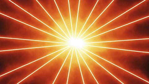 Orange Laser Beams Rays Motion Background Backdrop Animation