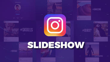 Instagram Slideshow After Effects Projekt