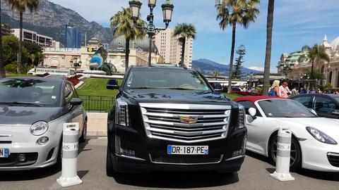 Cadillac Escalade SUV Footage