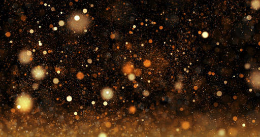 glittering stars on bokeh video background Animation