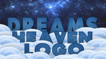 Dreams heaven logo Plantilla de Apple Motion