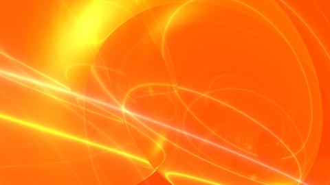 Abstract glass orange CG動画