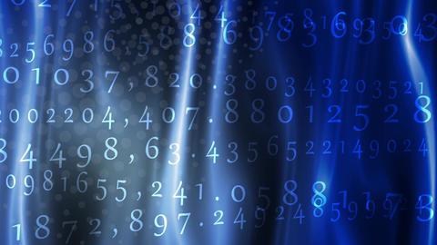 Random Number Random Shuffle Stock Video Footage
