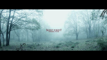 SILENT FOREST After Effects Template