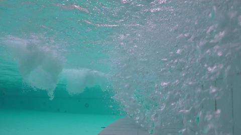 Jacuzzi Underwater Shot Stock Video Footage