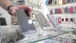Choosing mobile phone Footage